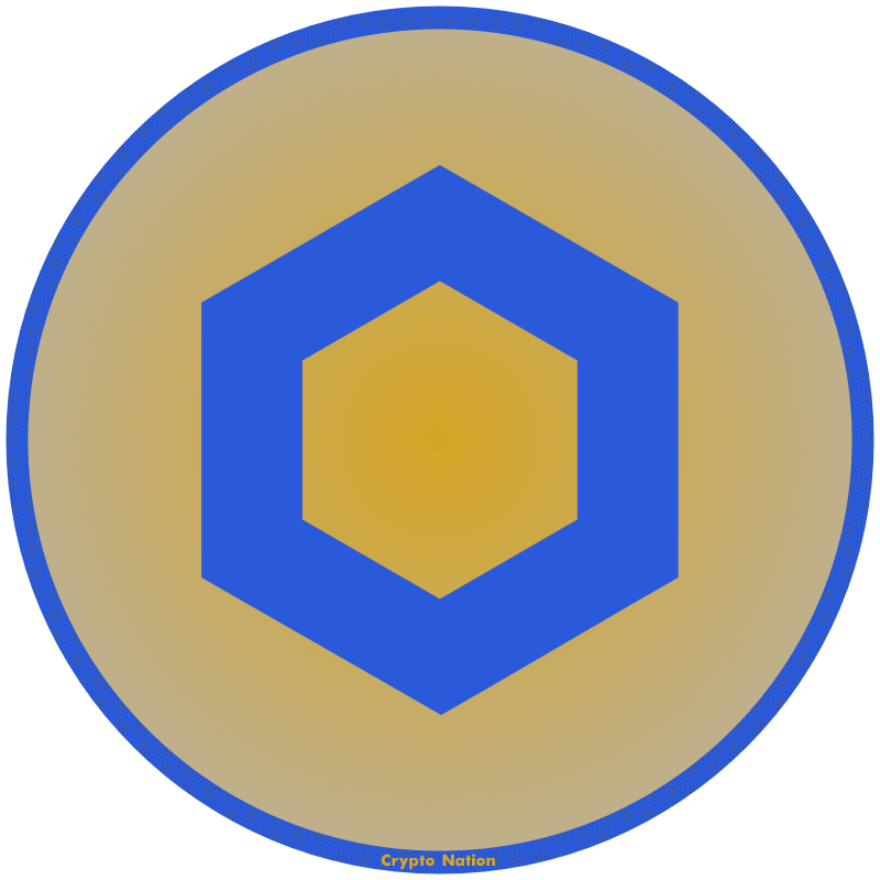 Chainlink Logo by Crypto Nation