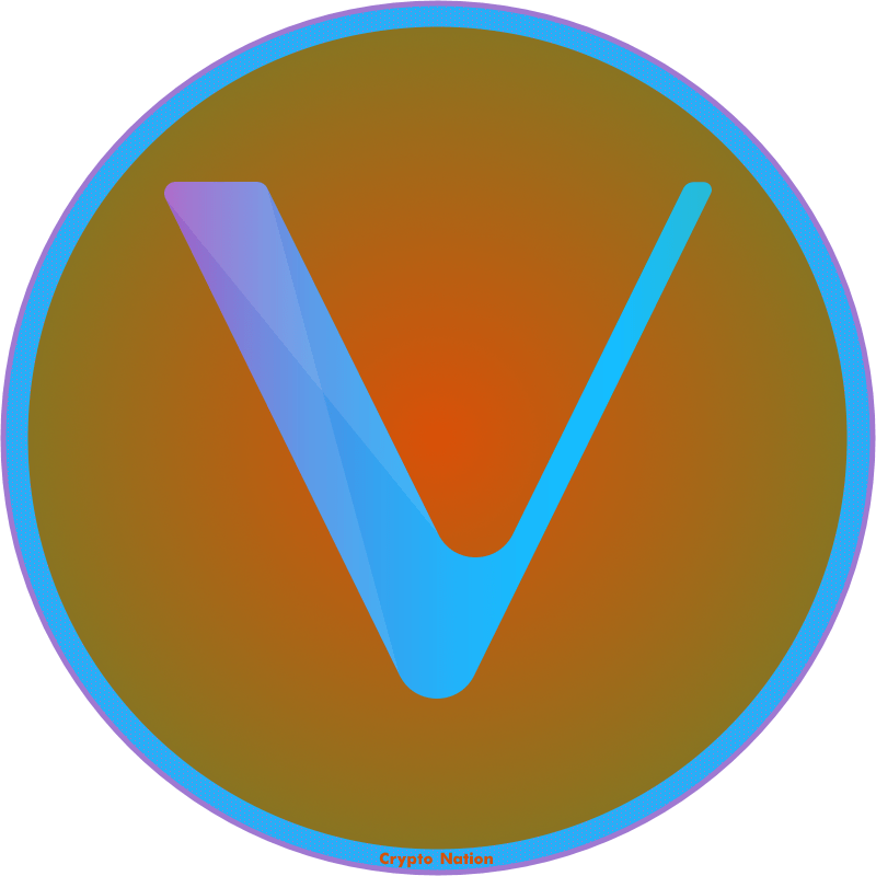 VeChain Logo by Crypto Nation